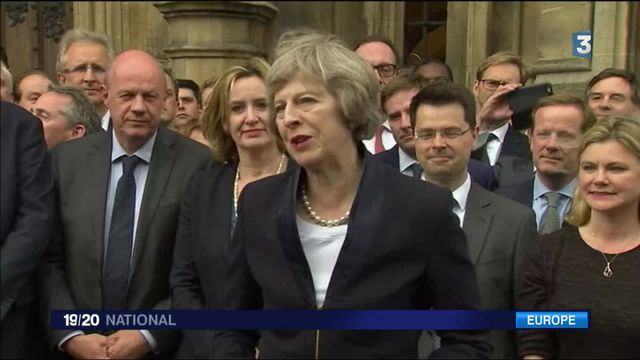 Royaume-Uni : Theresa May devient Premier ministre