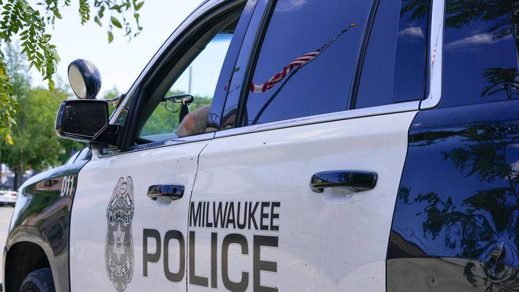 Une voiture de police duMilwaukee le 18 août 2020 (MORRY GASH/AP/SIPA)