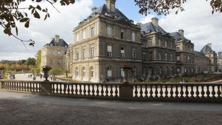 Le Sénat, vu du jardin du Luxembourg (14-9-2011) (AFP - JACQUES DEMARTHON)