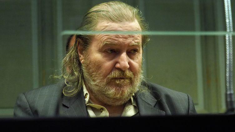 Jacques Rançon, lors de son procès en mars 2018, à Perpignan. (RAYMOND ROIG / AFP)