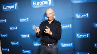 Nicolas Canteloup, le 3 septembre 2012, à Paris. (FRED DUFOUR / AFP)
