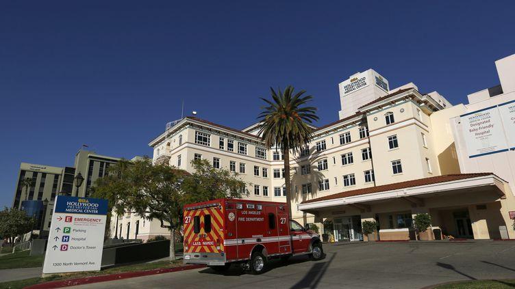 Le centre médical presbytérien d'Hollywood (Californie, Etats-Unis) visé par une cyberattaque, le 16 février 2016. (MARIO ANZUONI / REUTERS)