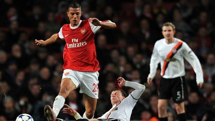 Chamakh va essayer de relancer sa carrière à Crystal Palace (ADRIAN DENNIS / AFP)