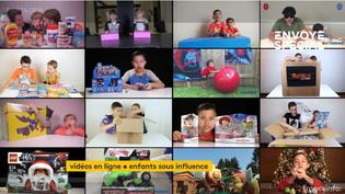 Vidéos en ligne, enfants sous influence (FRANCEINFO)