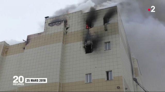 Incendie dans un centre commercial de Sibérie : la corruption mise en accusation