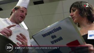 L'inspection du travail aveuglée par un chef étoilé ? (FRANCE 2 / FRANCETV INFO)