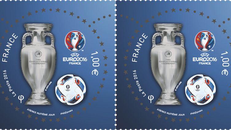 Le timbre officiel de l'Euro 2016
