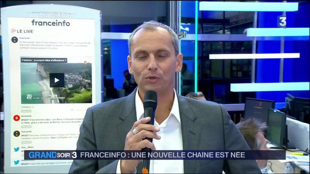 Franceinfo : la chaîne d'information en continu du service public a été lancée