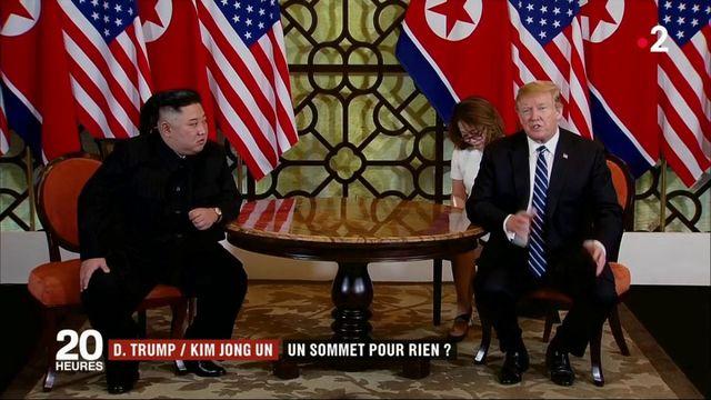 Donald Trump/Kim Jong-un : un sommet pour rien ?