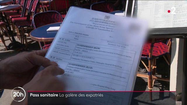 Pass sanitaire : les difficultés des expatriés français