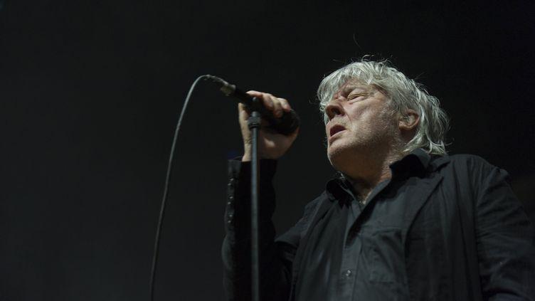 Arno en concert à l'Inc'Rock Festival à Incourt, en Belgique, le 6 mai 2018 (YVES CARPENTIER / MAXPPP)