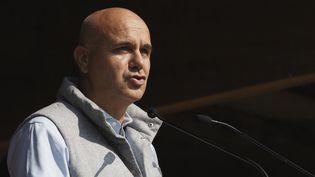 Nicolas Perruchot, présidentdu conseil départemental du Loir-et-Cher, le 19 septembre 2020. (GUILLAUME SOUVANT / AFP)