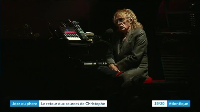 Concert de Christophe au phare des Baleines de l'île de Ré