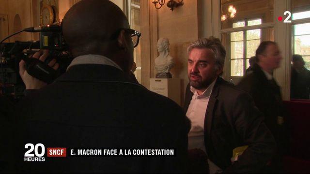 Grève SNCF : Emmanuel Macron face à la contestation