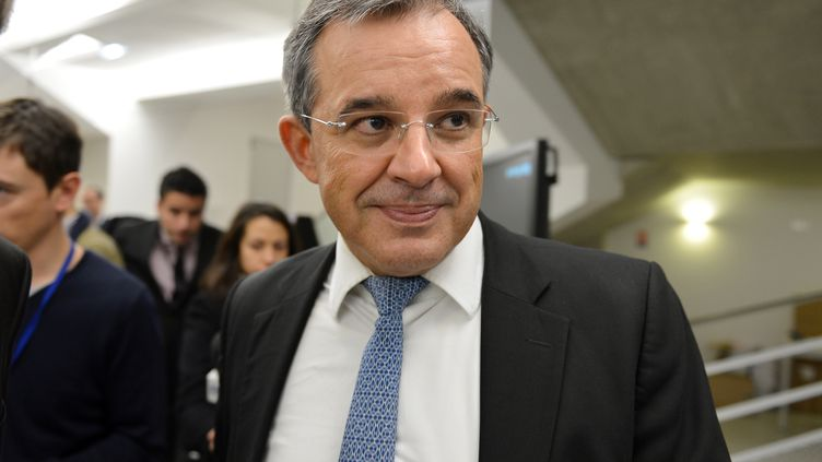 Le député et ancien ministre Thierry Mariani au siège de l'UMP, le 19 novembre 2012, à Paris. (MIGUEL MEDINA / AFP)