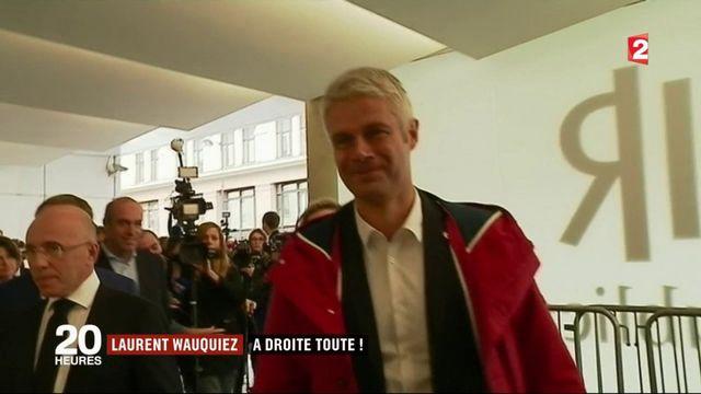 Laurent Wauquiez : un candidat à droite toute qui dérange
