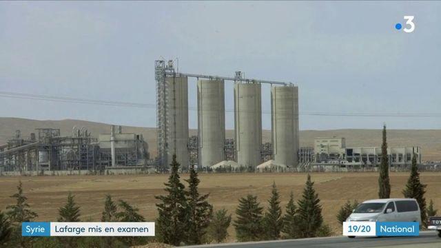 Syrie : le cimentier Lafarge mis en examen