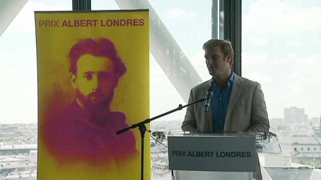 Samuel Forey Prix Albert-Londres 2017