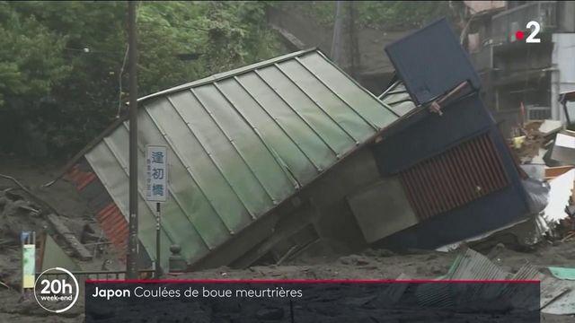 Japon : une coulée de boue meurtrière causée par un déluge