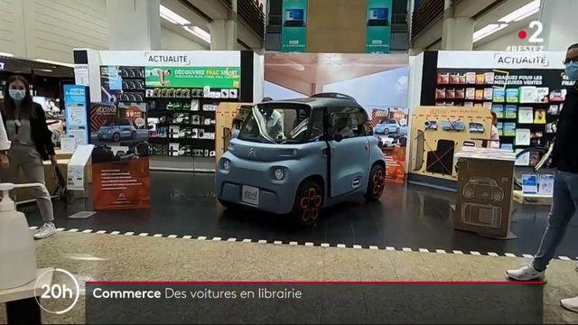 Commerce : des voitures vendues en librairie ?