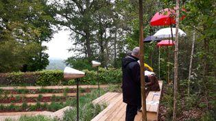 Le Festival International des Jardins de Chaumont sur Loire se déroule jusqu'au 5 novembre. (Anne Chépeau - franceinfo)