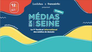 Visuel de la 4e édition de Médias en Seine (FRANCEINFO)