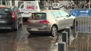 Intempéries : les Bouches-du-Rhône touchées par de fortes pluies (FRANCE 2)