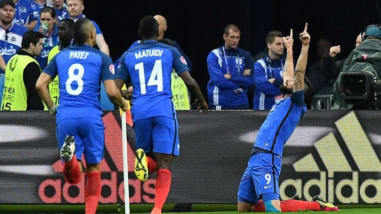 Les Bleus ont survolé leur quart de l'Euro contre l'Islande (FRANCK FIFE / AFP)