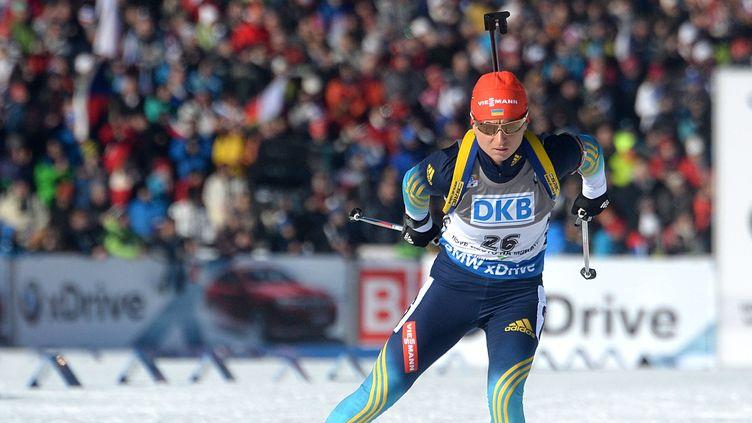 Valj Semerenko n'a pas réalisé la moindre erreur au tir ce dimanche  (MICHAL CIZEK / AFP)