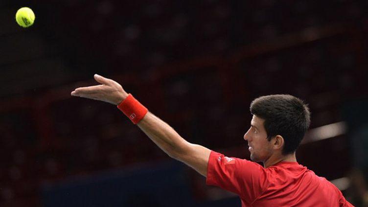 Novak Djokovic (Paris-Bercy) (MIGUEL MEDINA / AFP)
