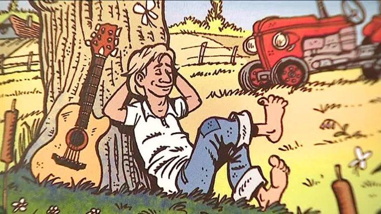 pochette de l'album d'Elvis Stengel  (France 3 / culturebox / capture d'écran/ François Abel)