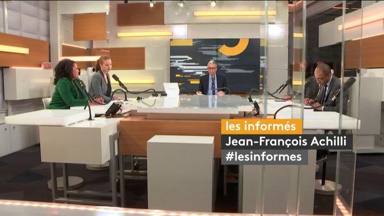 Les informés de franceinfo du 18 février 2020. (FRANCEINFO / RADIO FRANCE)