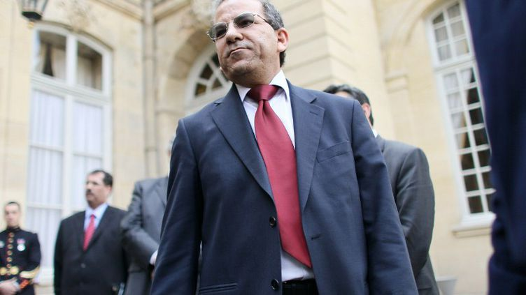 Le président du Conseil français du culte musulman, Mohammed Moussaoui,à Matignon, le 26 avril 2010. (THOMAS COEX / AFP)