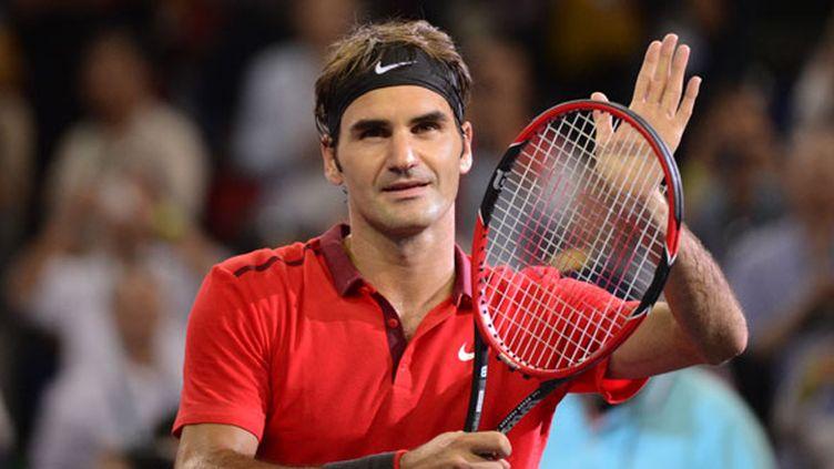 Le tennisman suisse Roger Federer