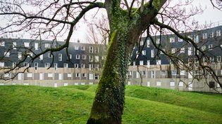 La cité de la Grande Borne, située à cheval sur les communes de Viry-Châtillon et Grigny, dans l'Essonne. (MAXPPP)