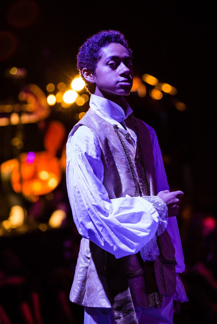 Thomas joue le Baron jeune.  (Agathe Poupeney/Opéra national de Paris)