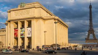 Le Palais de Chaillot, qui abrite le Théâtre national de Chaillot.  (Gardel Bertrand / hemis.fr / Hemis / AFP)