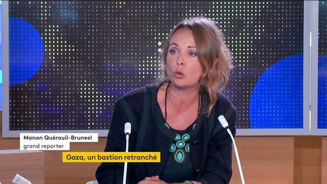 Gaza : grand reporter, Manon Quérouill-Bruneel dépeint le quotidien difficile des habitants