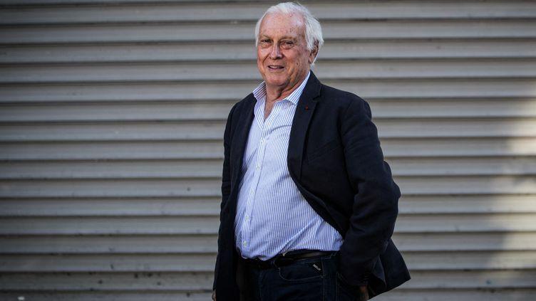 Jean-François Delfraissy, le président du Conseil scientifique, à Paris le 26 avril 2020. (JOEL SAGET / AFP)