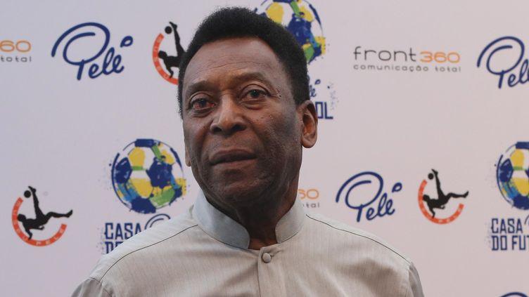 La légende brésilienne Pelé  (VANESSA CARVALHO / BRAZIL PHOTO PRESS)