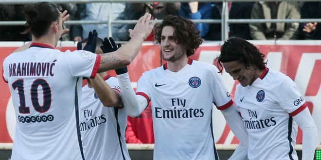 La joie des Parisiens contre Troyes