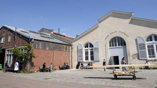 Le Théâtre du Soleil à la Cartoucherie de Vincennes  (BERTRAND GUAY / AFP)