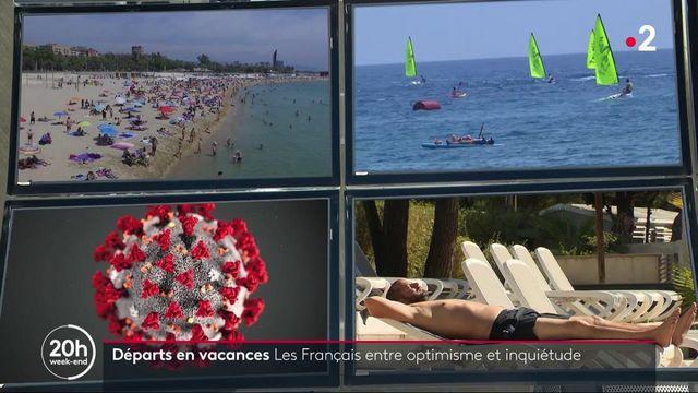 Départs en vacances : certains Français inquiets