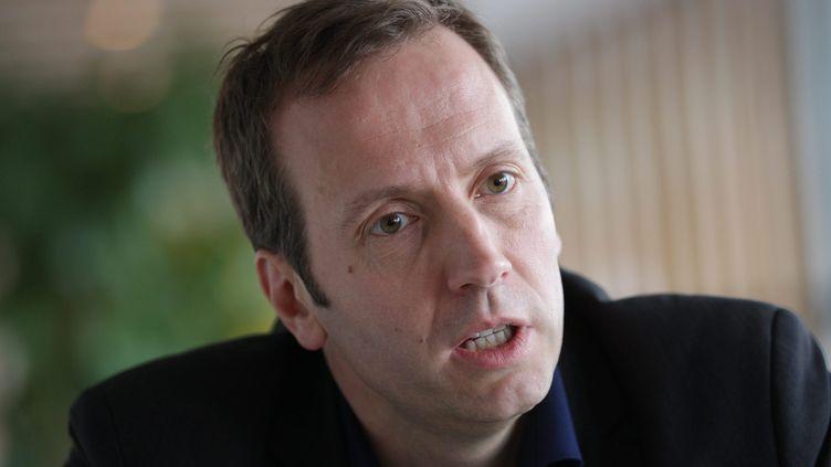 Frédéric Sève,secrétaire national à la CFDT en charge du dossier des retraites, le 21 novembre 2012. (THIERRY GACHON / MAXPPP)