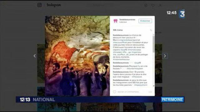Lascaux 4 : les clichés sur Instagram en avant-première