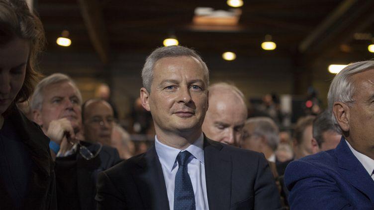 Le député de l'Eure Bruno Le Maire, le 29 janvier 2017 à Paris. (STÉPHANE ROUPPERT / CITIZENSIDE / AFP)