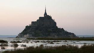 Le Mont-Saint-Michel (27 avril 2013)  (Charly Triballeau / AFP)