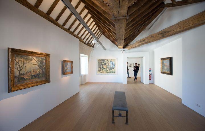 Les combles du musée Picasso abritent désormaisla collection privée de l'artiste.  (Romuald Meigneux / Sipa / )