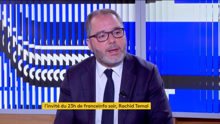 Rachid Temal (PS) (FRANCEINFO)