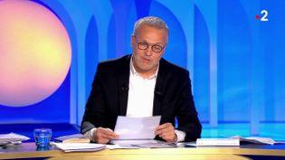 """L'animateur Laurent Ruquier sur le plateau de l'émission """"On n'est pas couché"""", le 14 septembre 2019. (FRANCE 2)"""